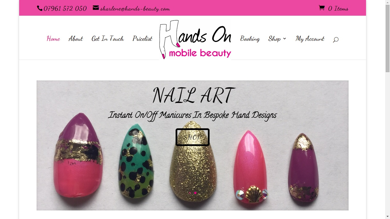 Website Design: Hands On Mobile Beauty