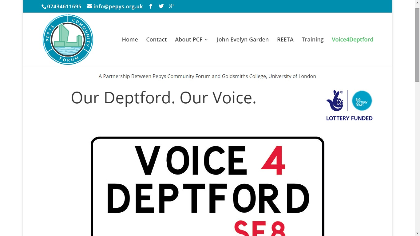 Voice 4 Deptford