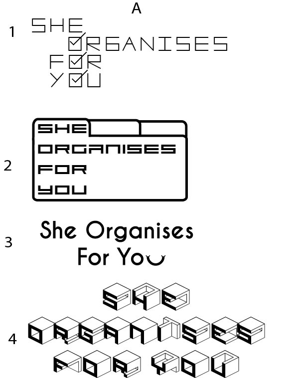 Logo Design: She Organises For You
